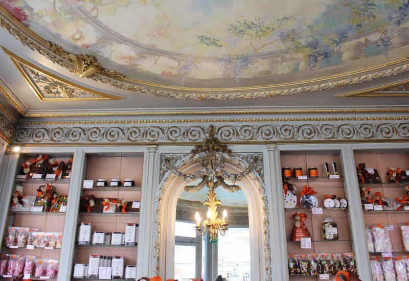 Moulins - Allier - Confiserie Sérardy intérieur