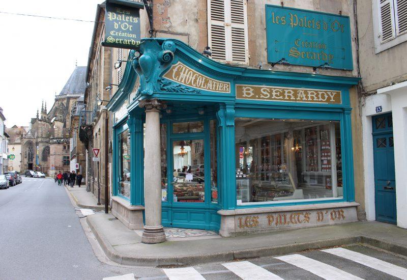 Moulins - Allier - Confiserie Sérardy extérieurr