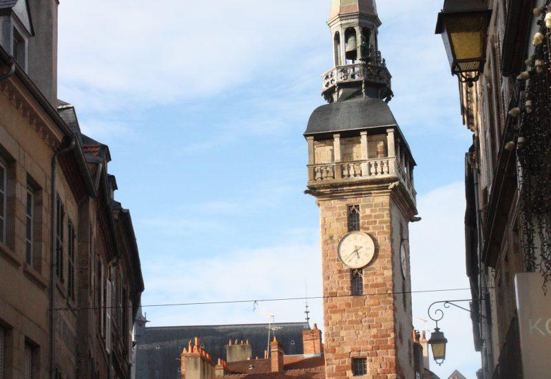Moulins- Allier -tour de l'horloge jacquemart