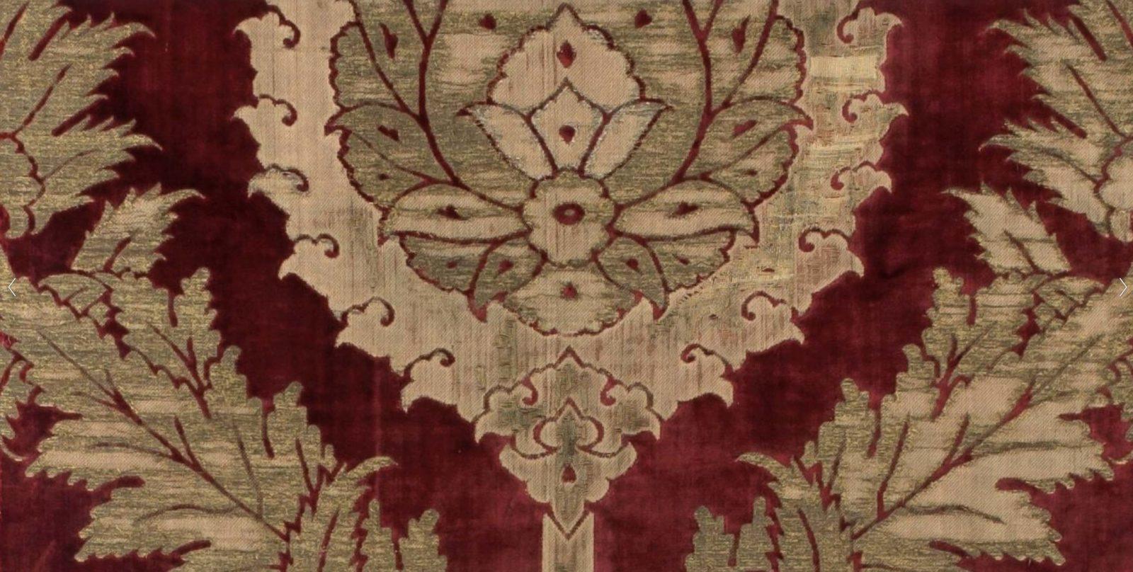 Laize à décor de compartiments à fleuron, Turquie, XVIe siècle