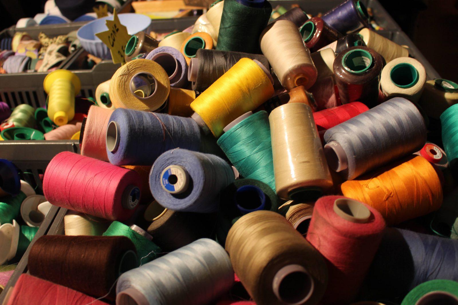 Silk in Lyon bobines