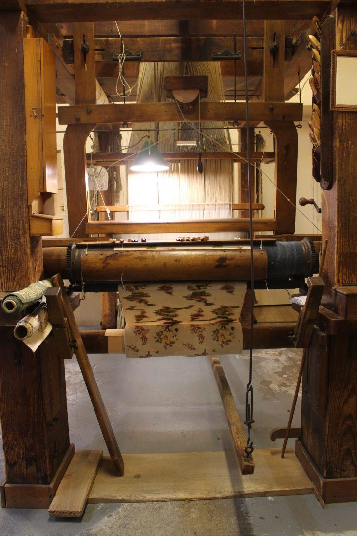 Maison des Canuts Lyon métier à tisser @françoyse Krier