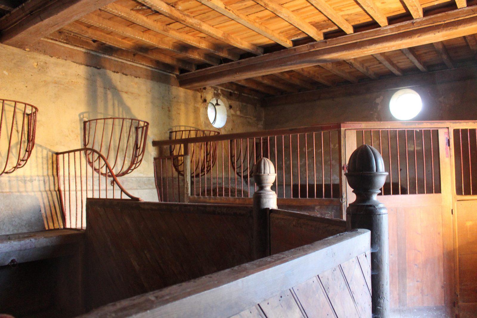 chateau-niii-Fleyriat - écurie @ francoyse Krier