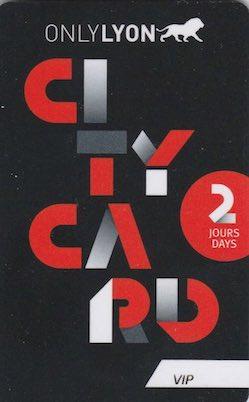 carte City card Lyon
