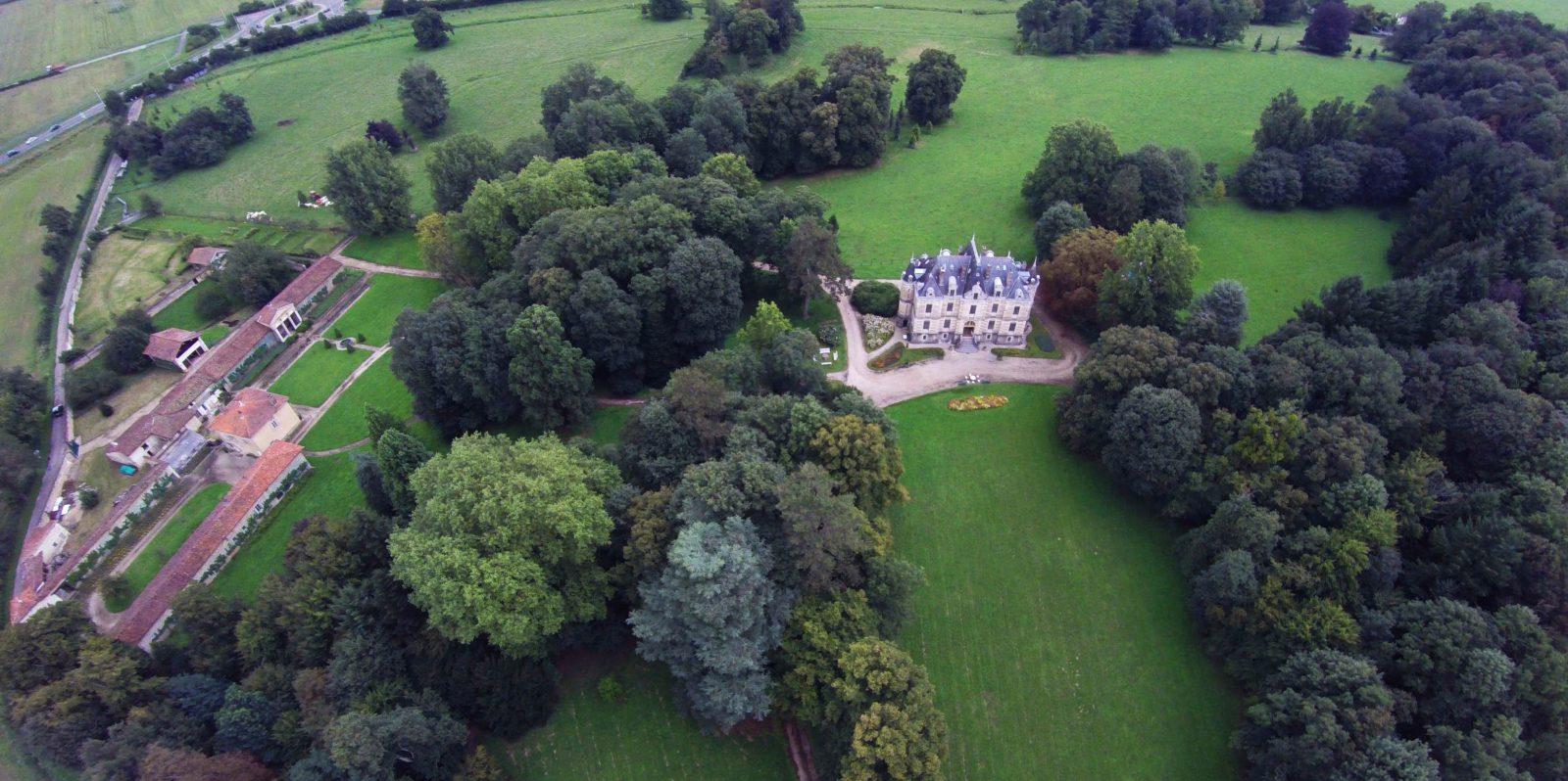 château de Fleyriat - @credits photographques chateau de Fleyriat