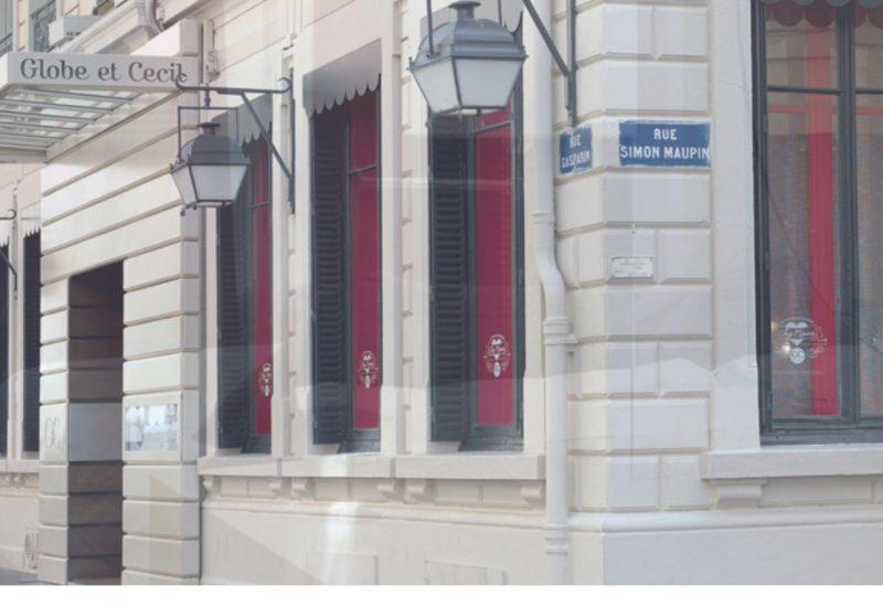 Entrée Hôtel Globe & Cecil Lyon @françoyse Krier