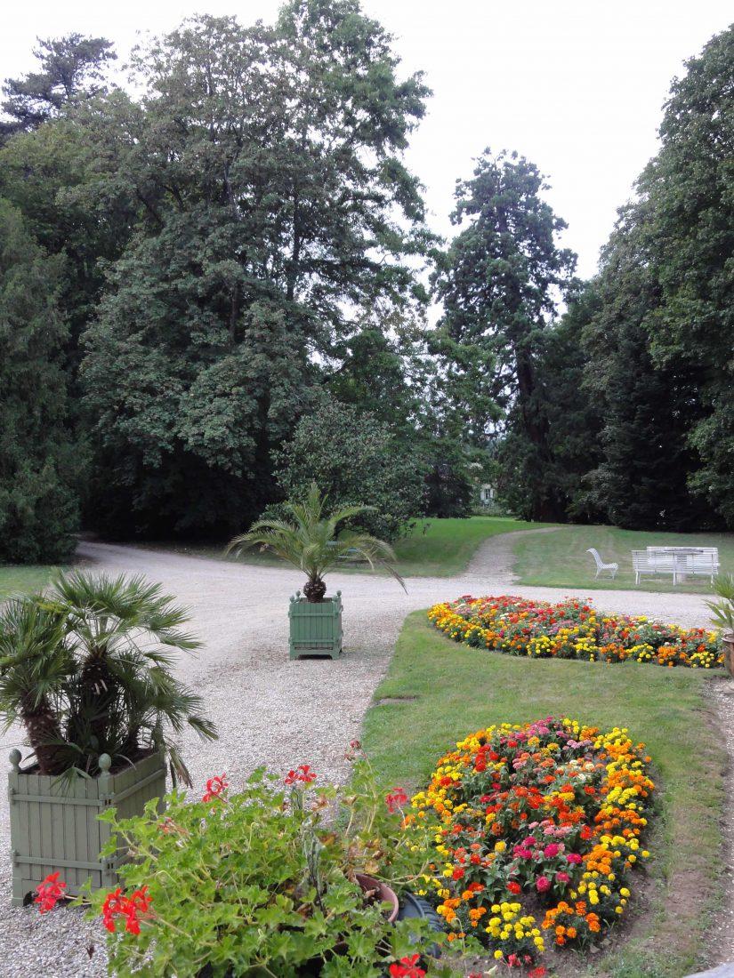 chateau-niii-Fleyriat - parc @ credit photographique Château de Fleyriat