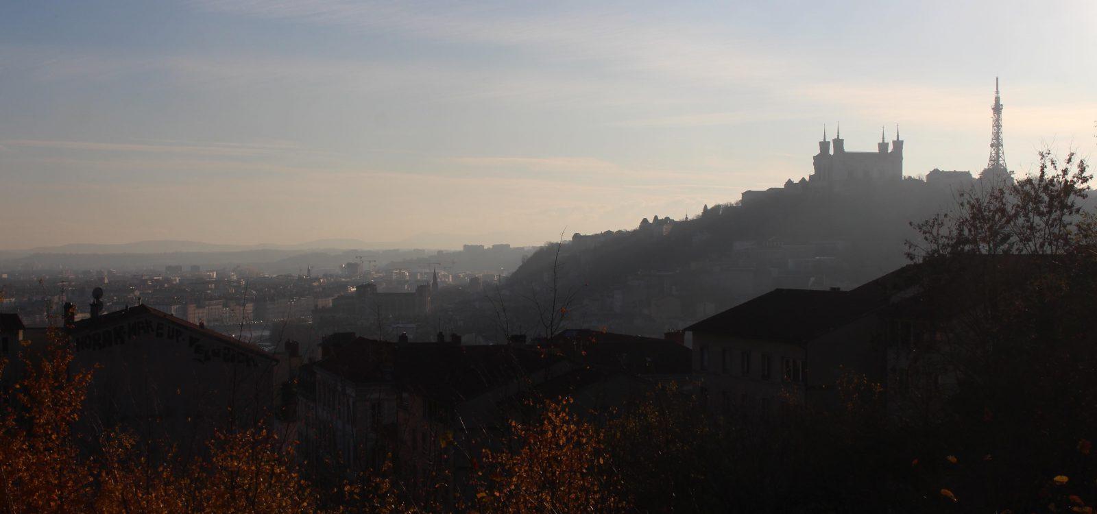 vue de Lyon depuis la Croix-Rousse françoyse Krier