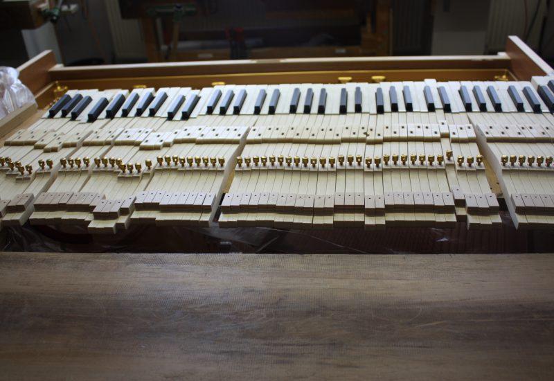 Fabrique Steinway Hambourg - clavier