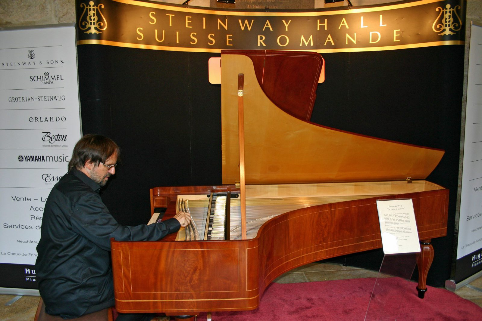 Jean Baumat - Steinway