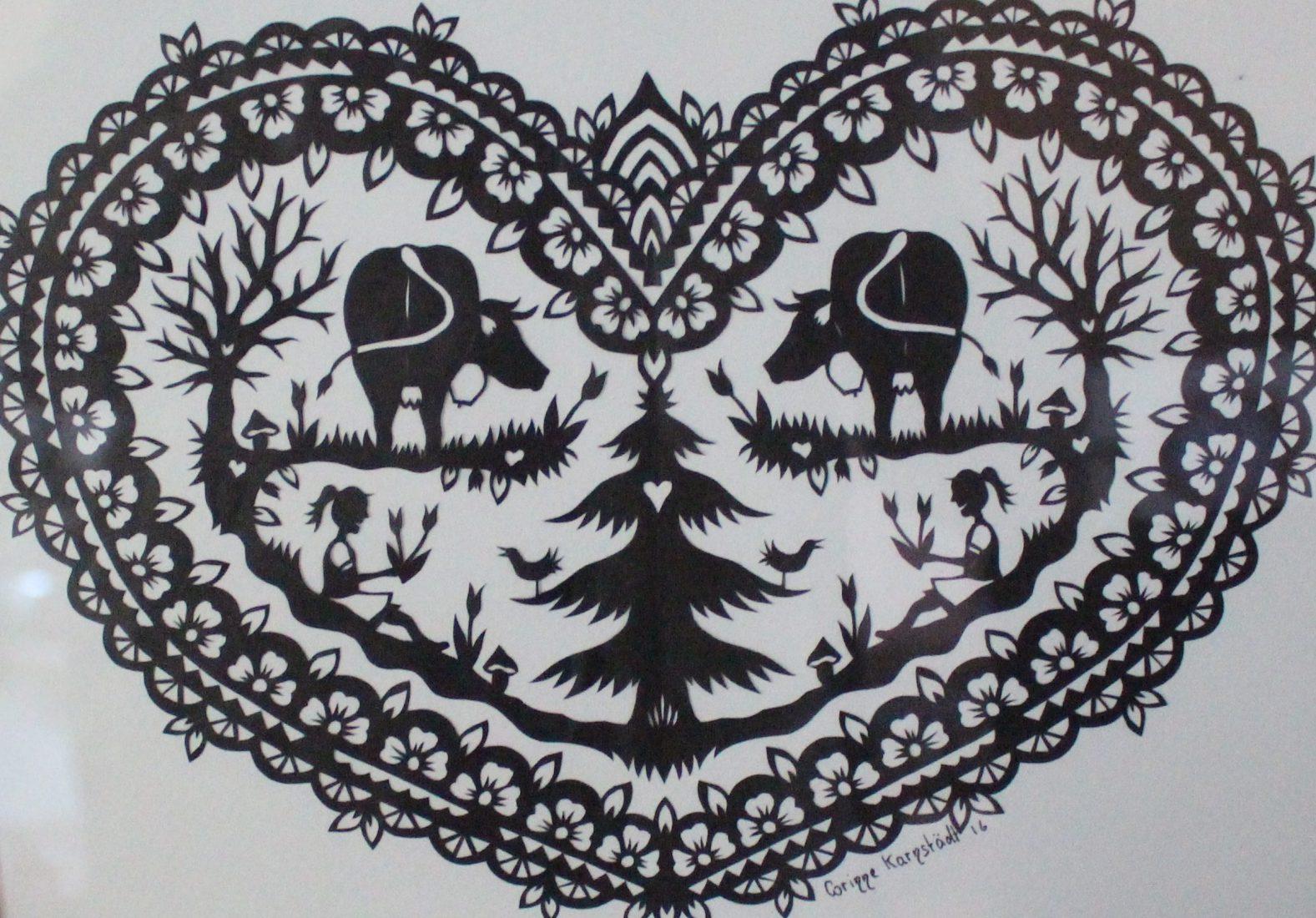 pays-d'enhaut – l'art ancestral et subtil du papier découpé | fyk'mag