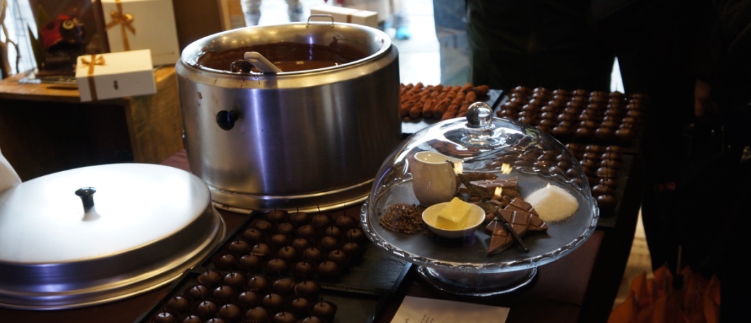 Chic et choc Rallye du chocolat- La Chocolatière