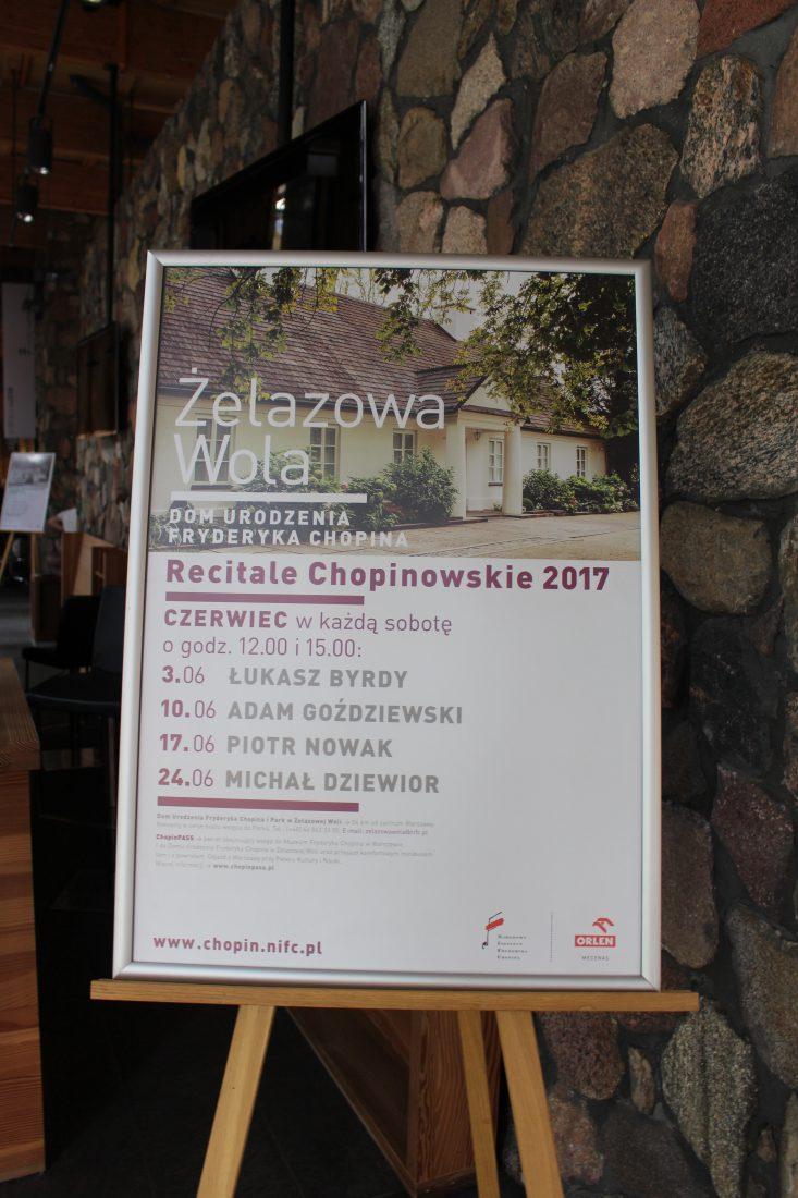 Zelazowa Wola récital Chopin