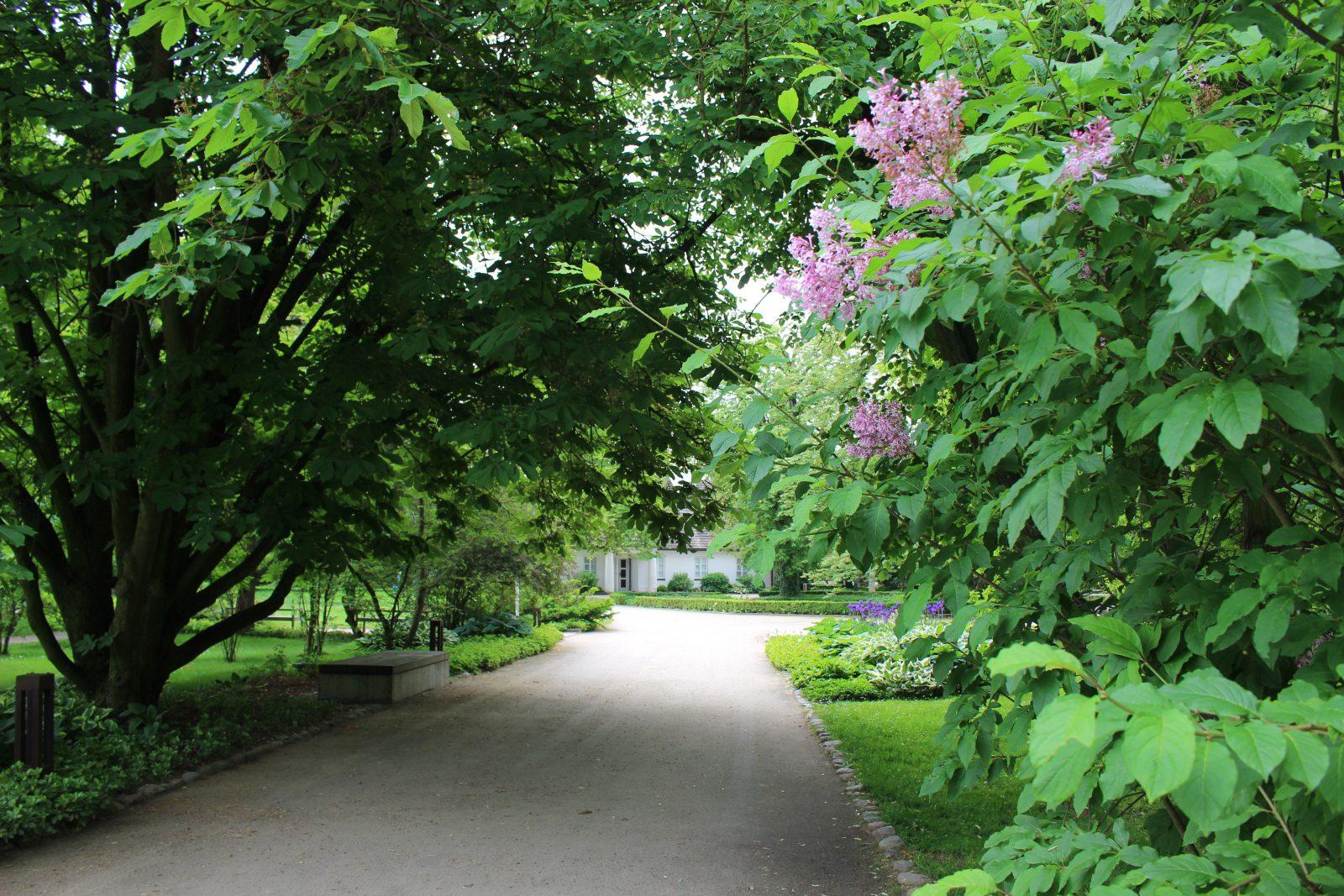 Zelazowa Wola maison natale de chopin vue du parc