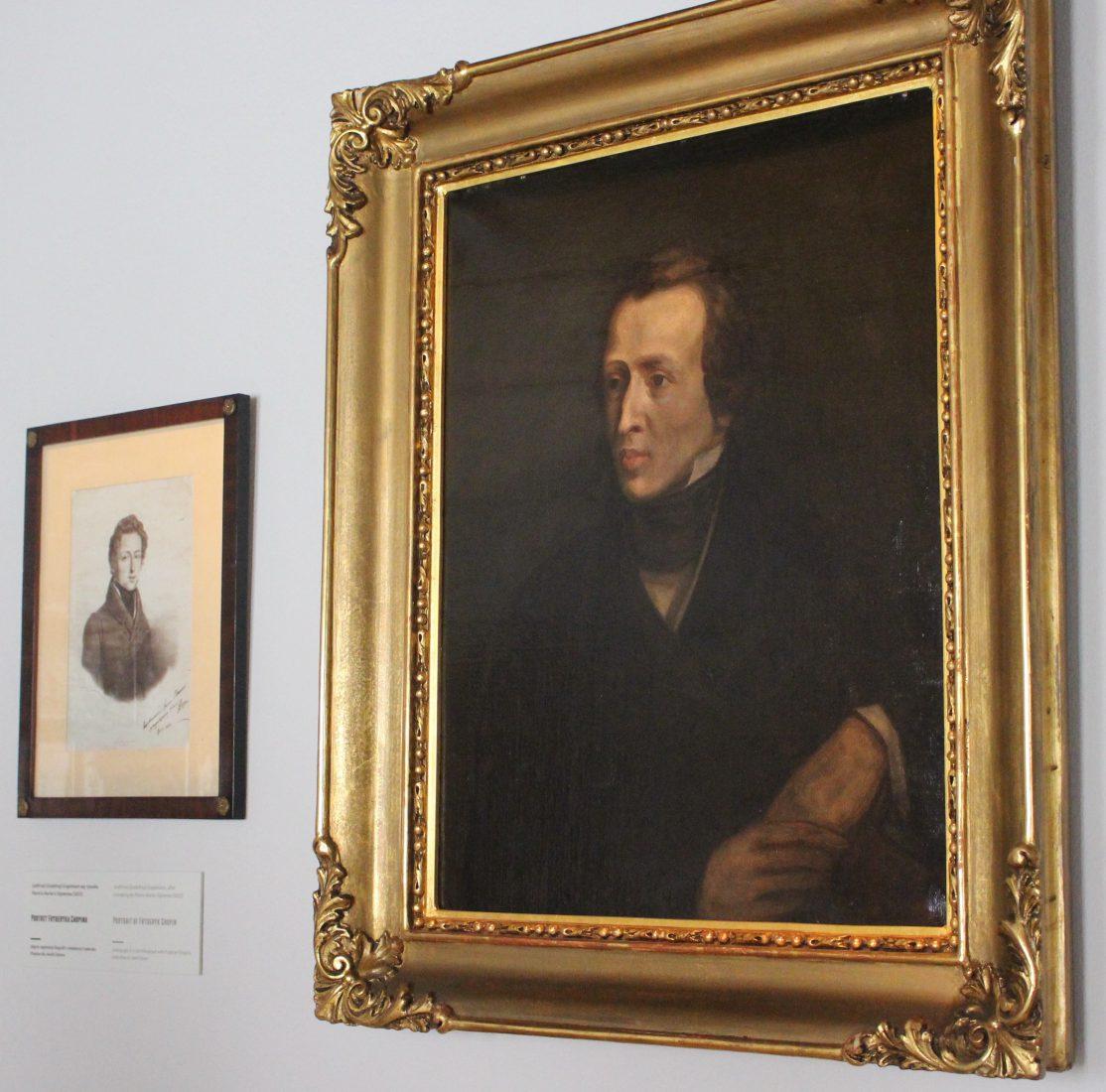 portrait chopin Casimir Mordasiewicz, d'après un tableau perdu de Antoine Kolberg