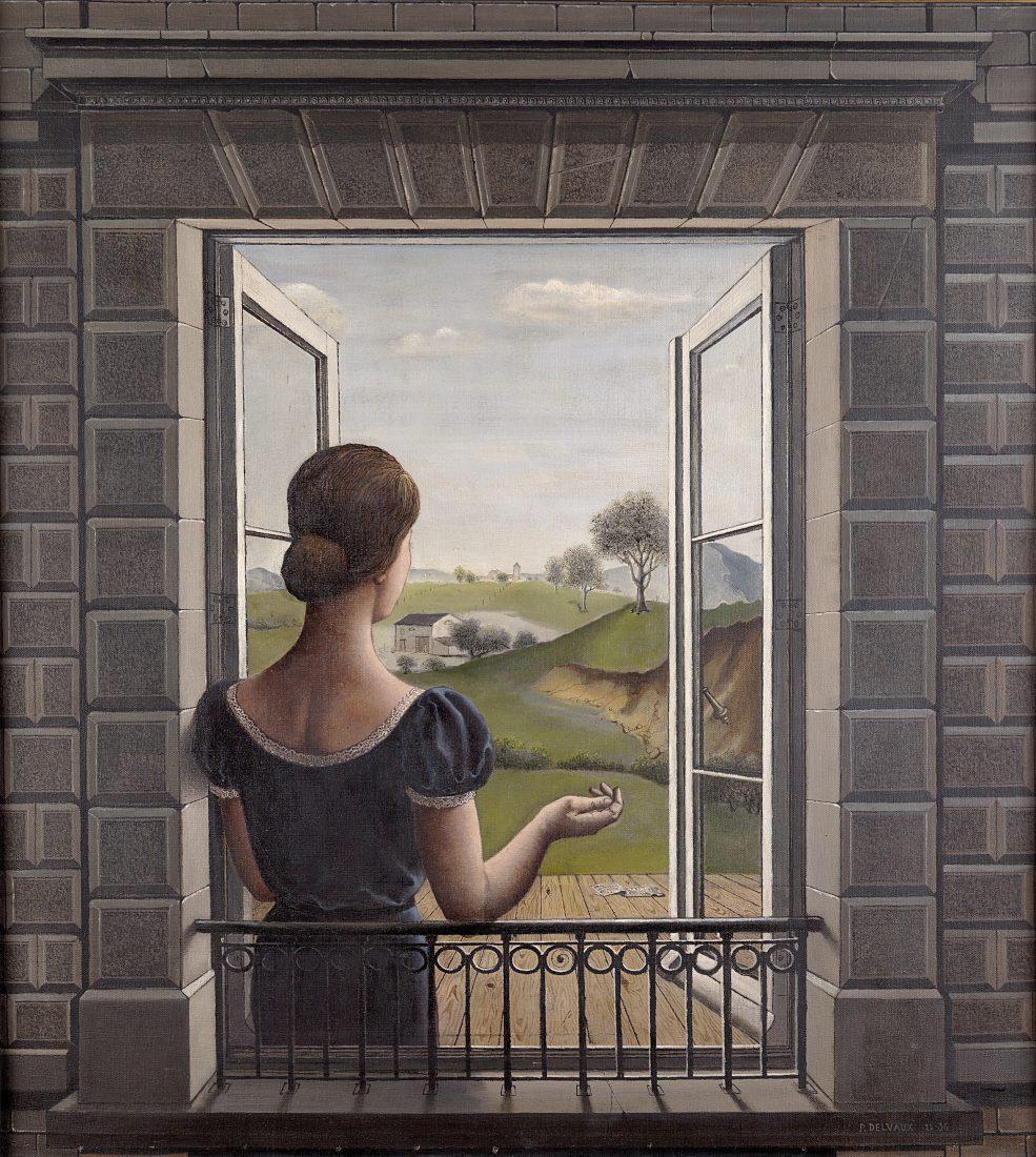 Evian Paul Delvaux, La Fenêtre, 1936