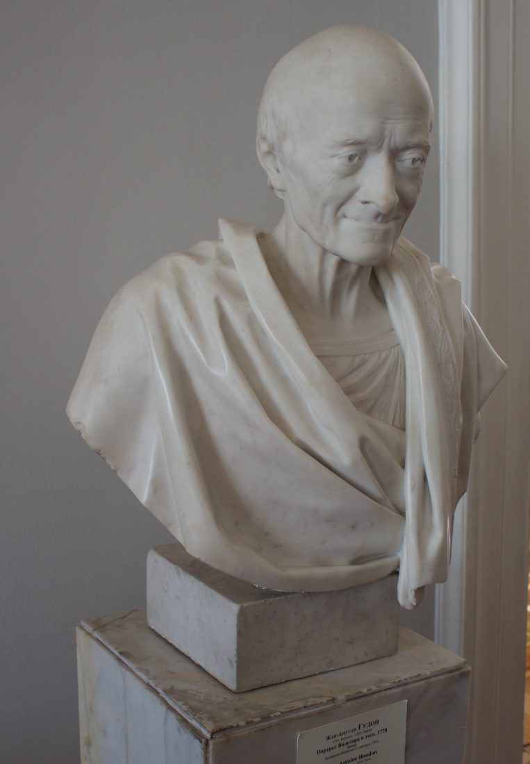 Saint Petersbourg Ermitage Buste Voltaire