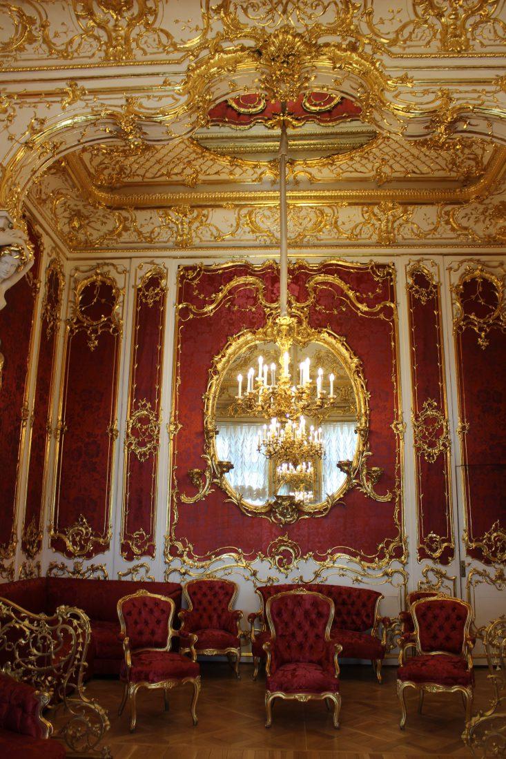 Saint Petersbourg Ermitage Salon rouge