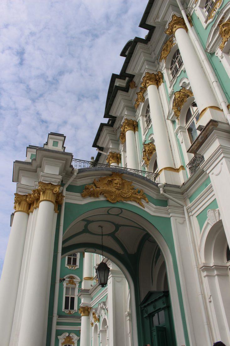 Saint Petersbourg Ermitage Porte extérieure