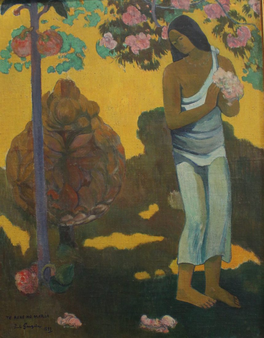 Saint Petersbourg musée Ermitage Gauguin