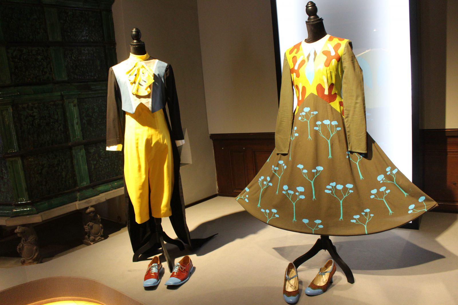 Musée Forel Morges Albertine Zullo robe et costume masculin