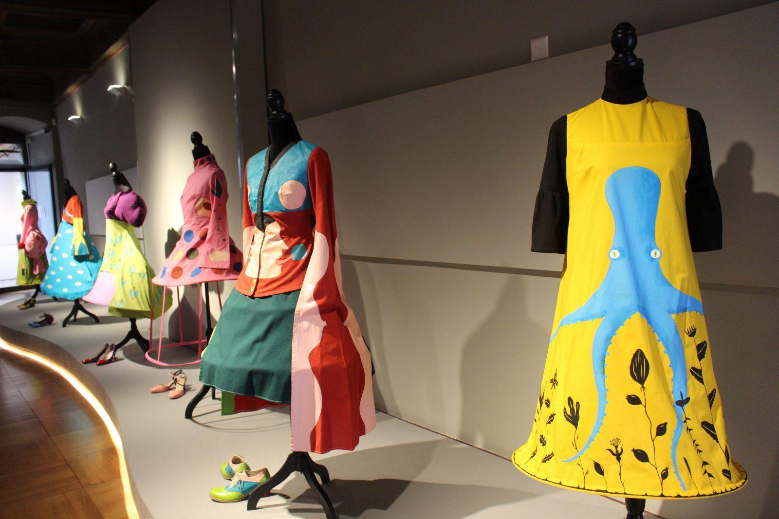 Musée Forel Morges Albertine Zullo ensemble de robes