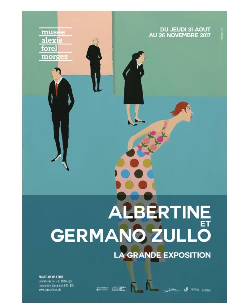 Musée Forel Affiche Albertine et germano Zullo