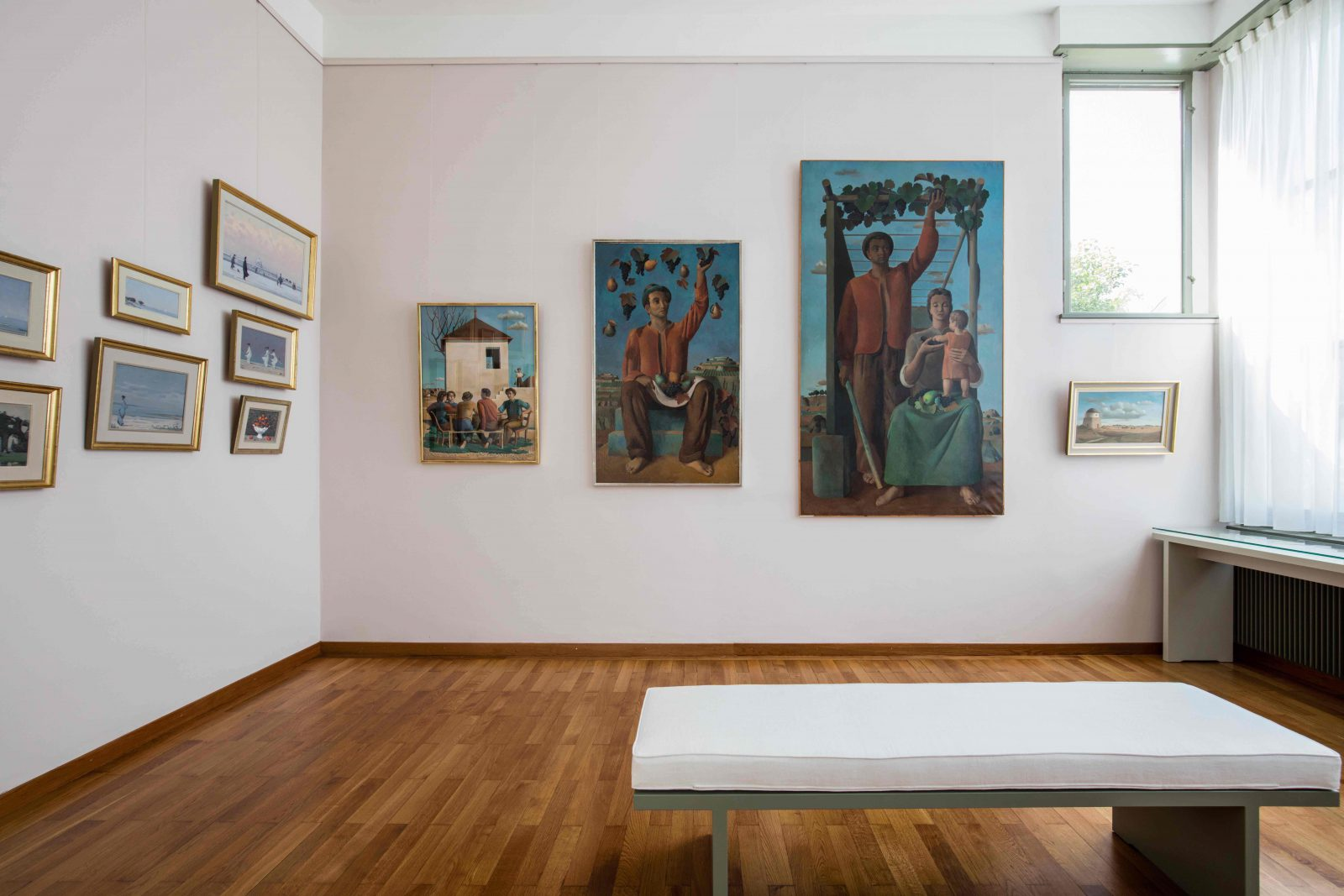L'Atelier De Grandi à Corseaux exposition dans Aile