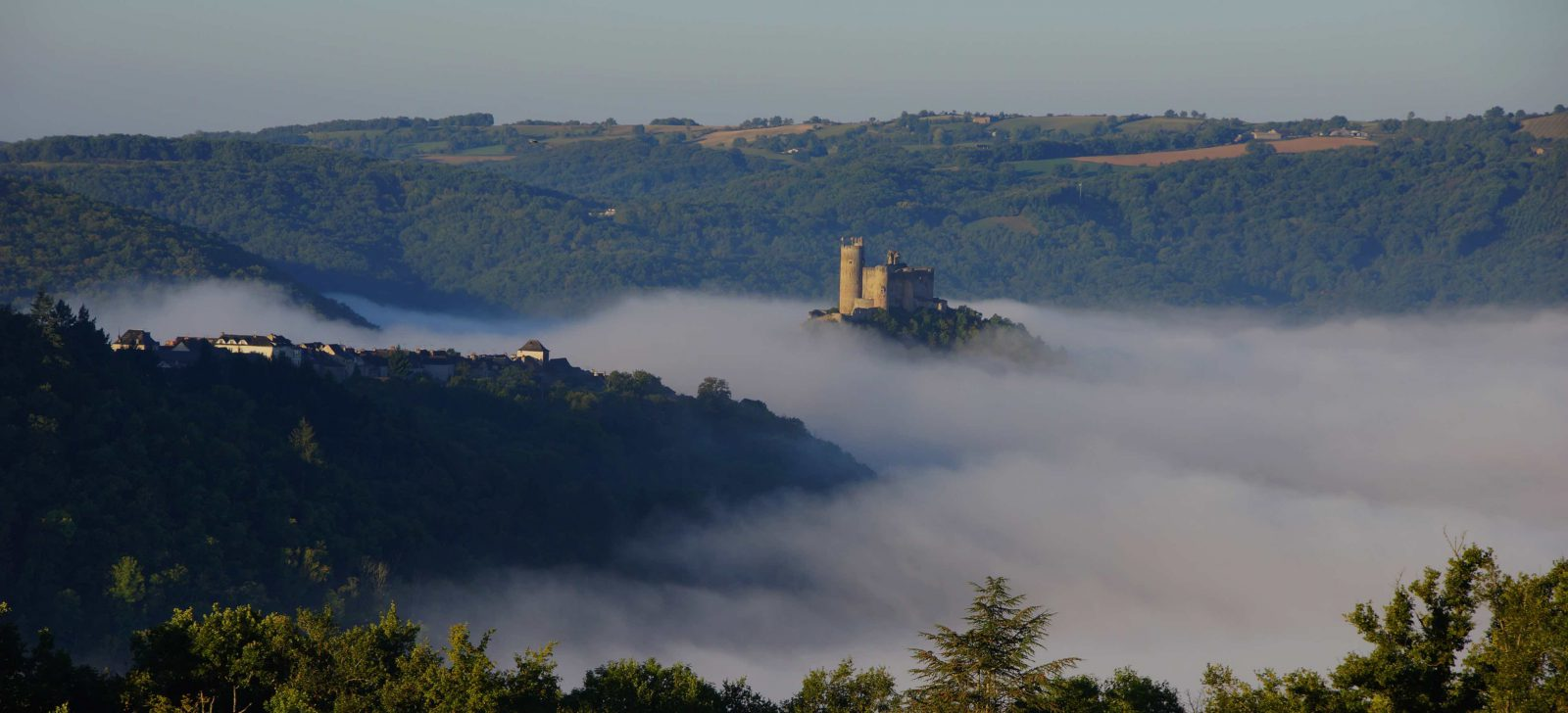 Najac, Aveyron, bastide du Rouergue