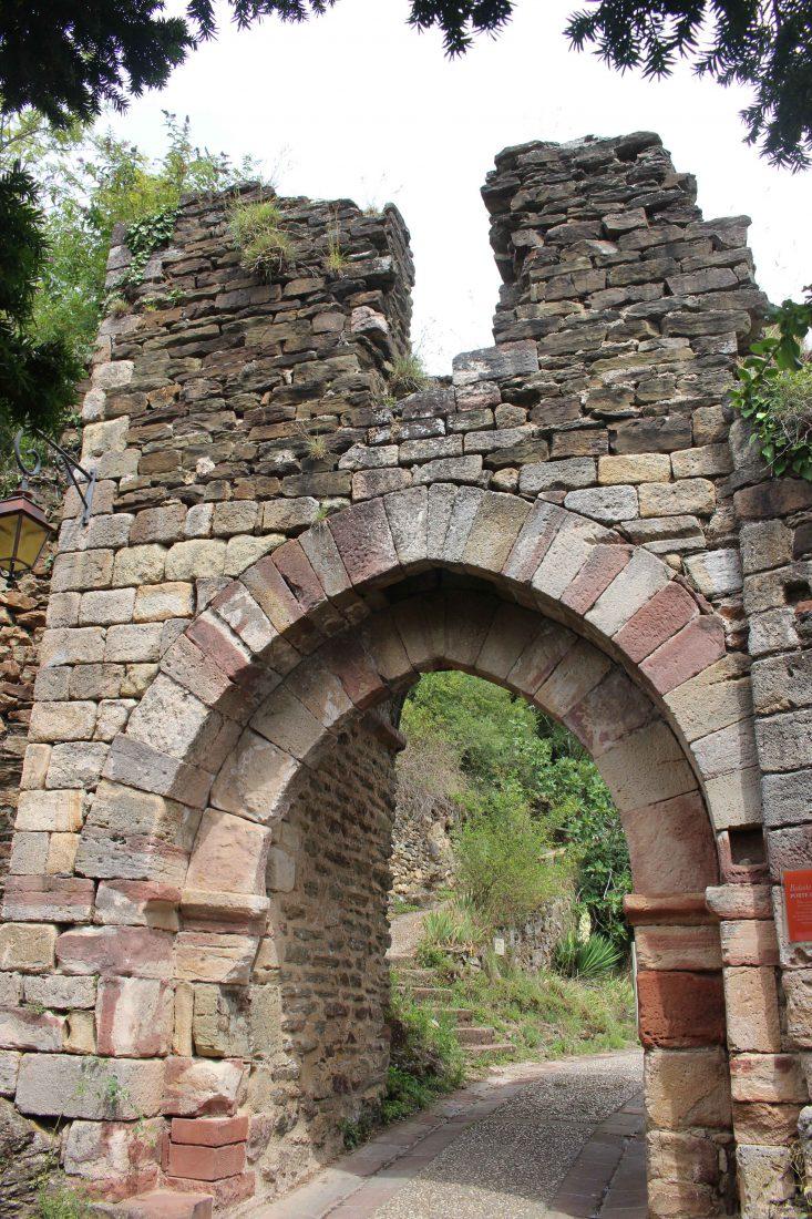 Najac, Aveyron, porte de la Pique