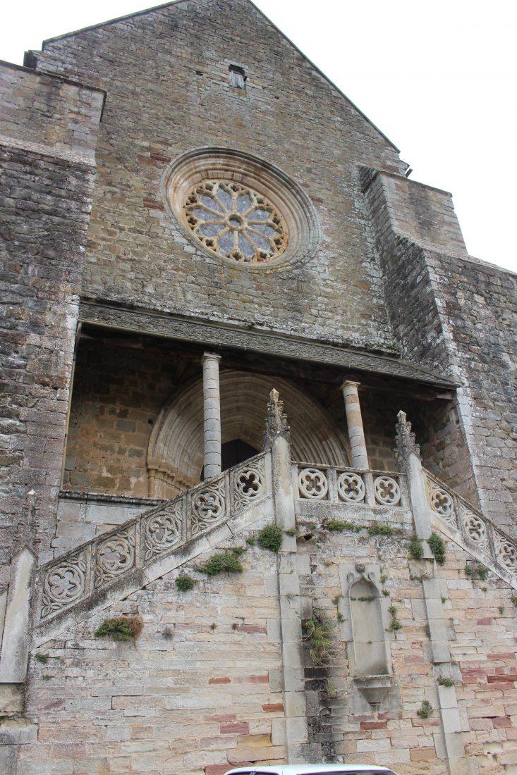 Najac, Aveyron, église St-Jean