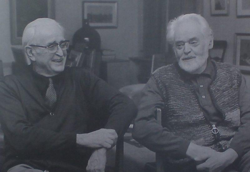 (Vincent et Italo en 1984 – Photo F. Vauthey Brun)