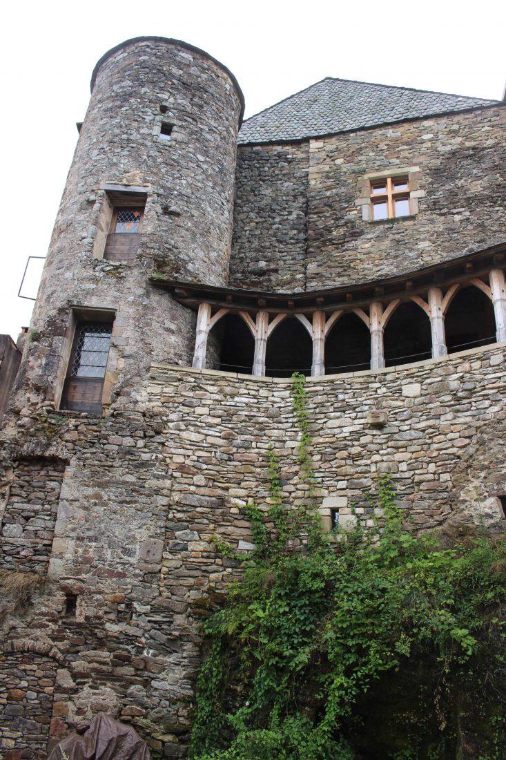 Najac, Aveyron, maison du gouverneur