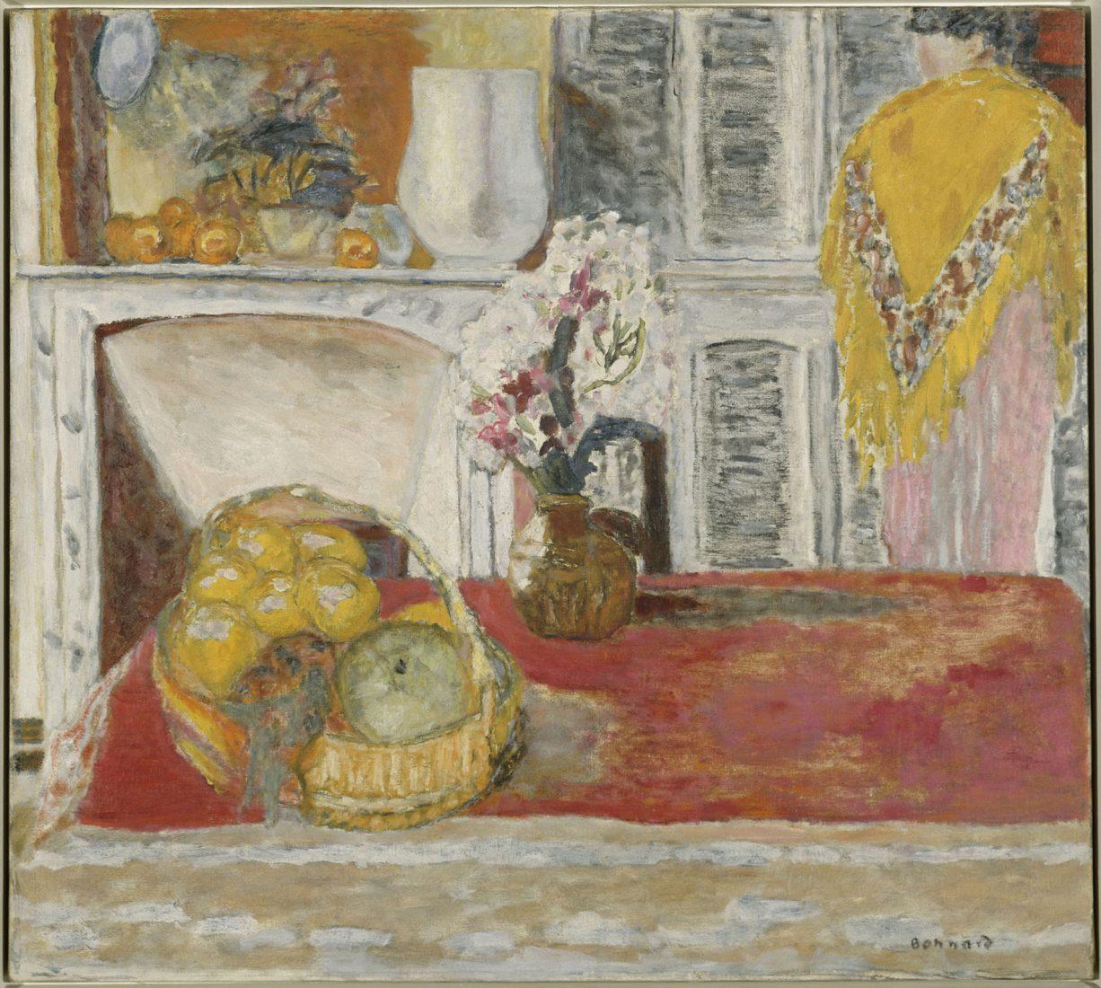 Bonnard Pierre (1867-1947). Paris, Centre Pompidou Salle à manger