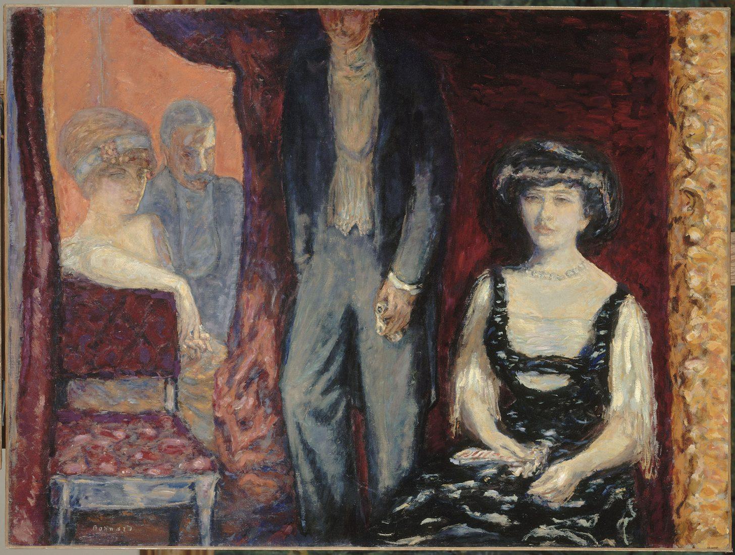 Bonnard Pierre (1867-1947). Paris, musée d'Orsay. la Loge