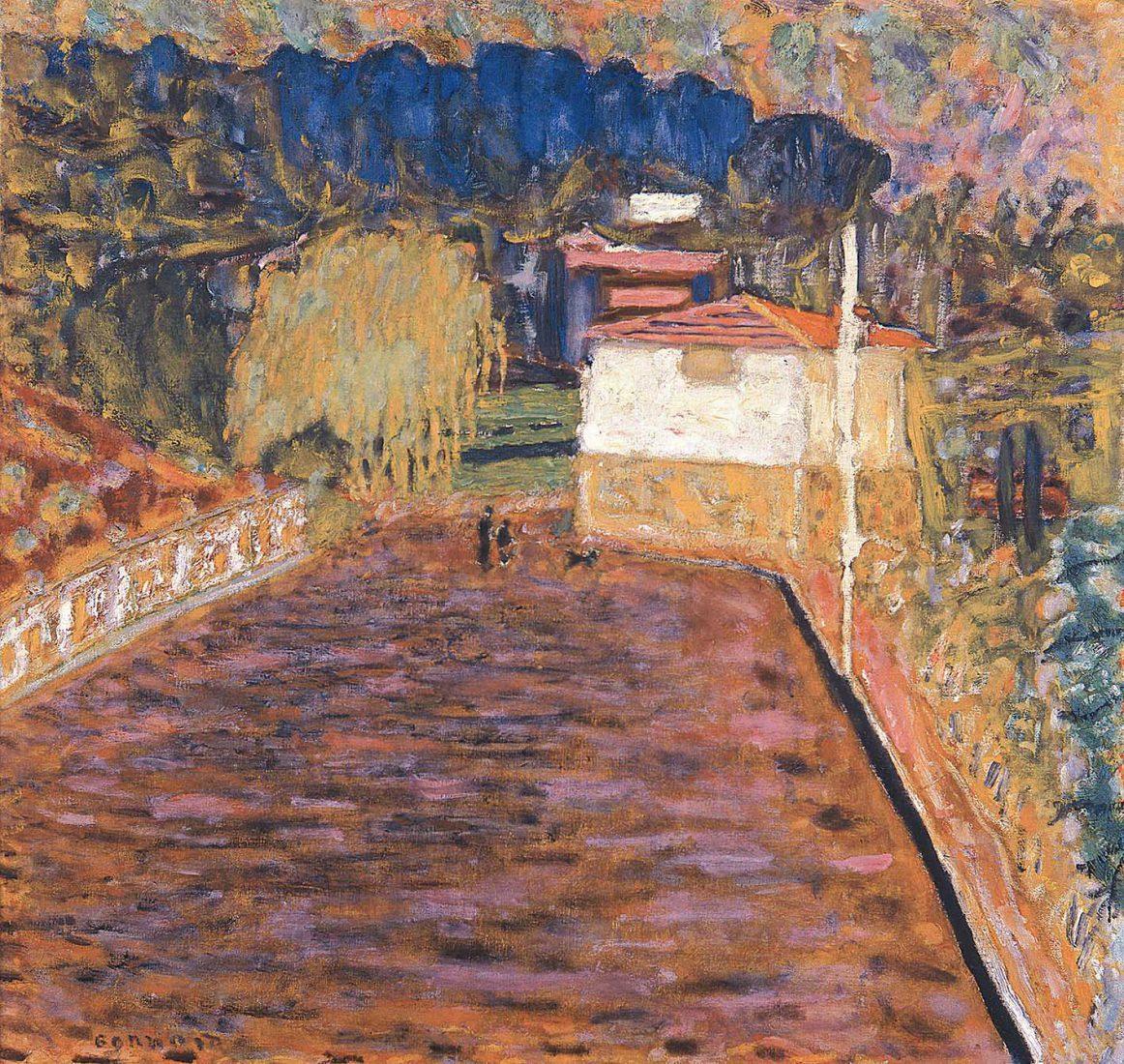 Bonnard Pierre Route Rose au Cannet Musée de l'Annonciade, Saint-Tropez