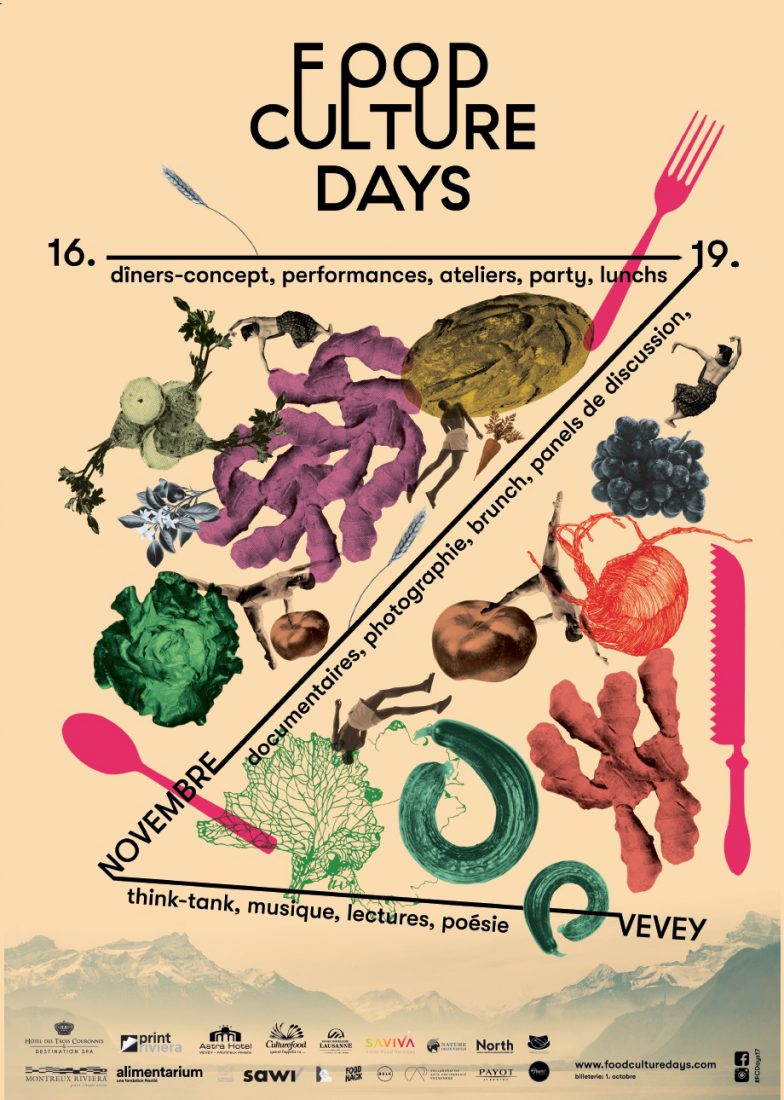 Foodculture days 2017 Affiche