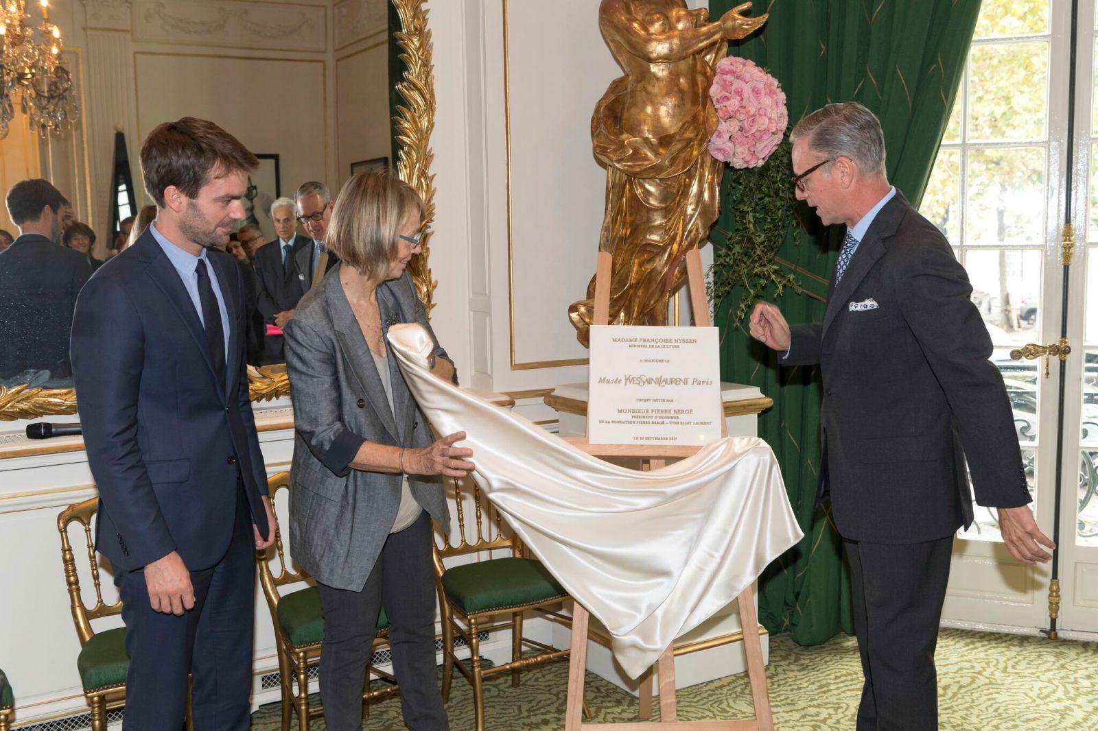 Musée Yves Saint Laurent Paris Inauguration / Luc Castel