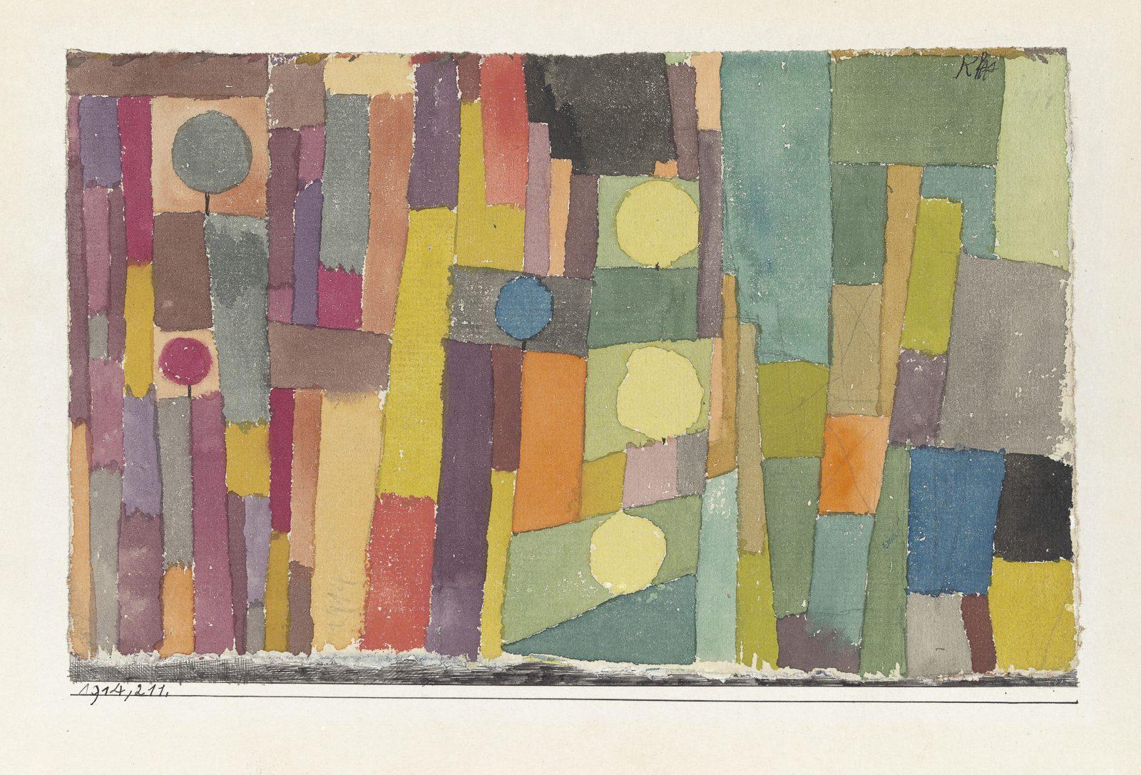 Riehen Paul Klee Dans le style de Kairouan