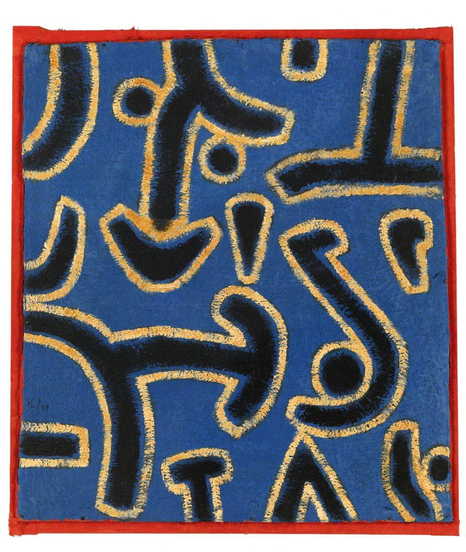 Riehen Paul Klee Ludus Martis, 1938,