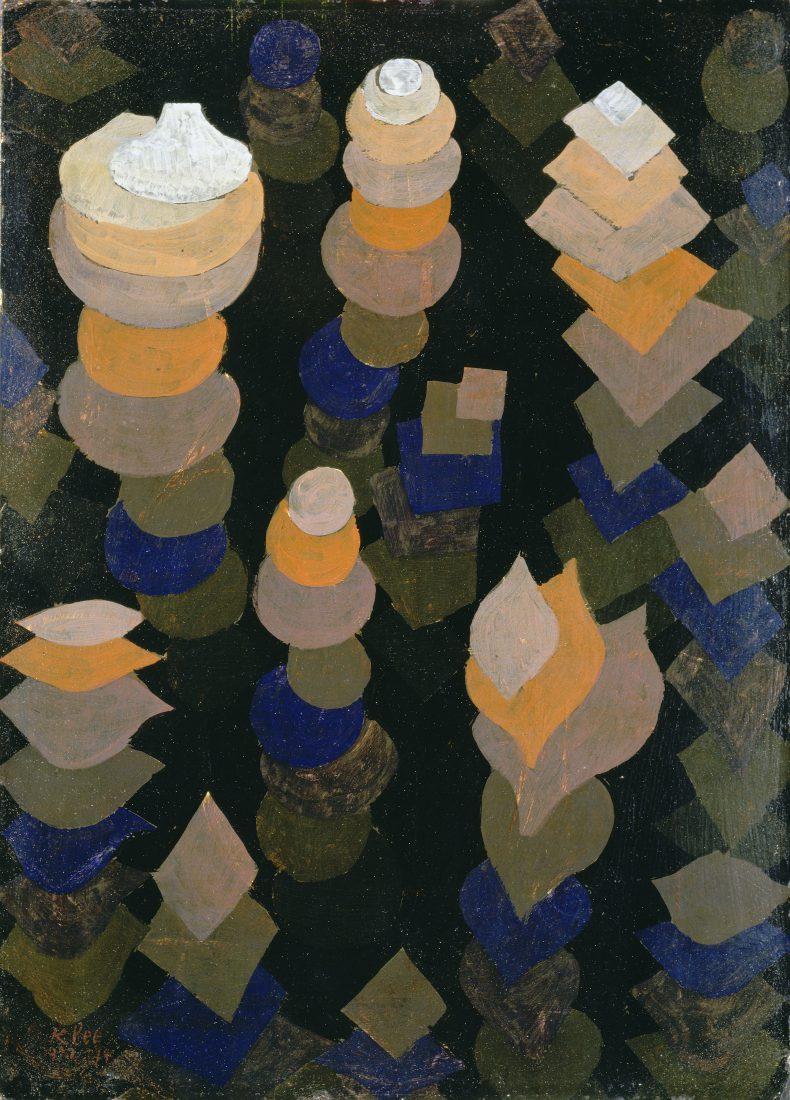 Riehen Paul Klee Wachstum-der-Nachtpflanzen