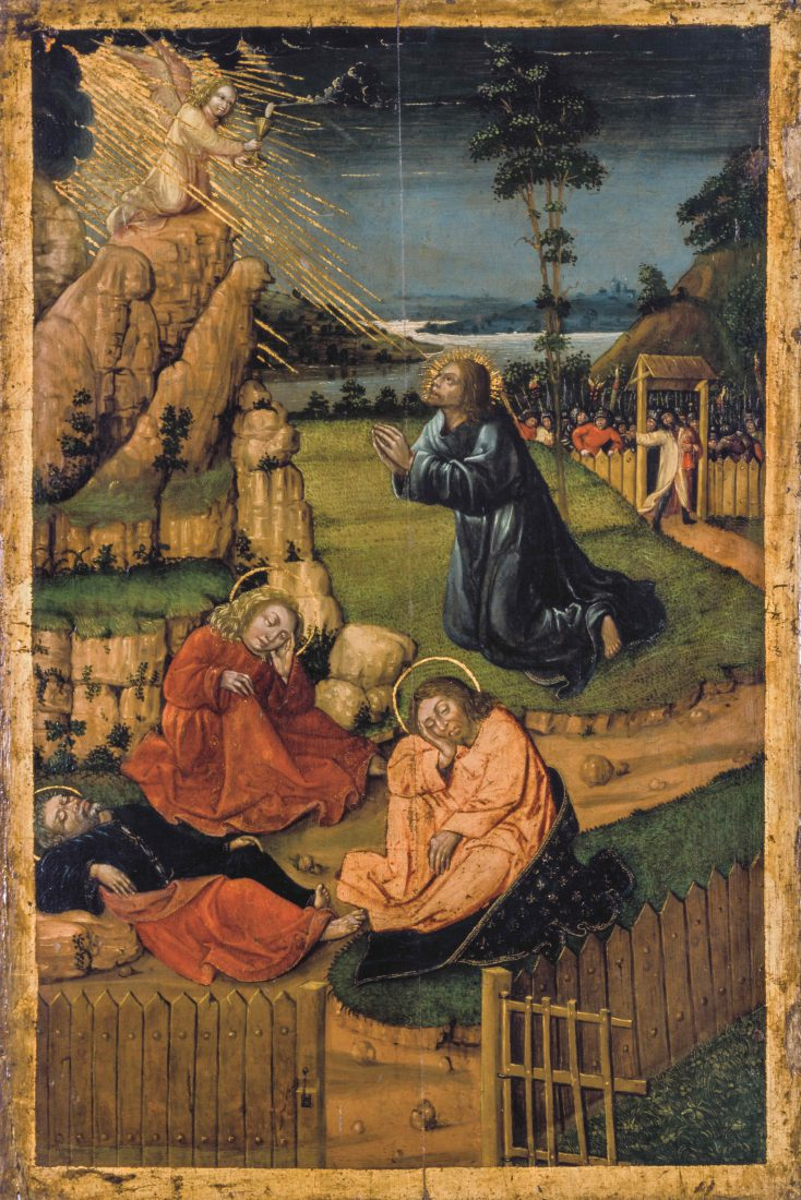 Anonyme, Le Christ au jardin des oliviers © MAHF / Francesco Ragusa