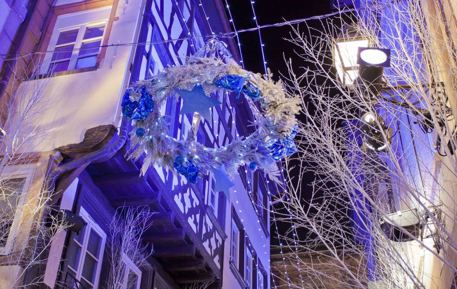 Strasbourg décorations de Noël