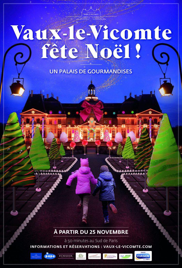 Affiche Noël 2017 Vaux-le-Vicomte