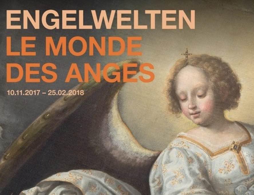Affiche Le monde des Anges Musée Art Histoire Fribourg