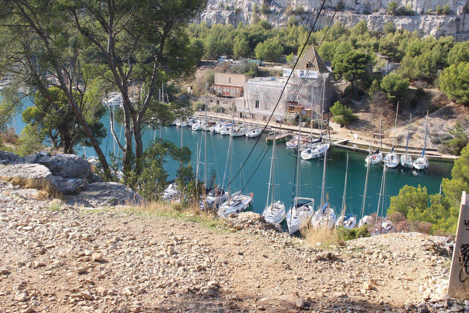 Cassis les calanques - Port Miou