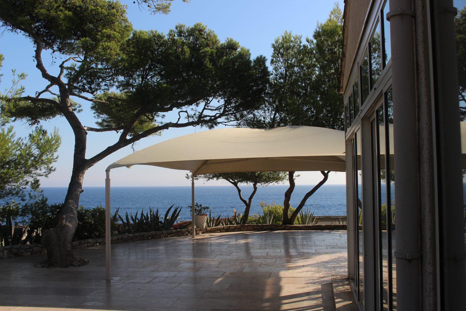 baie de Cassis, le restaurant La Presqu'île