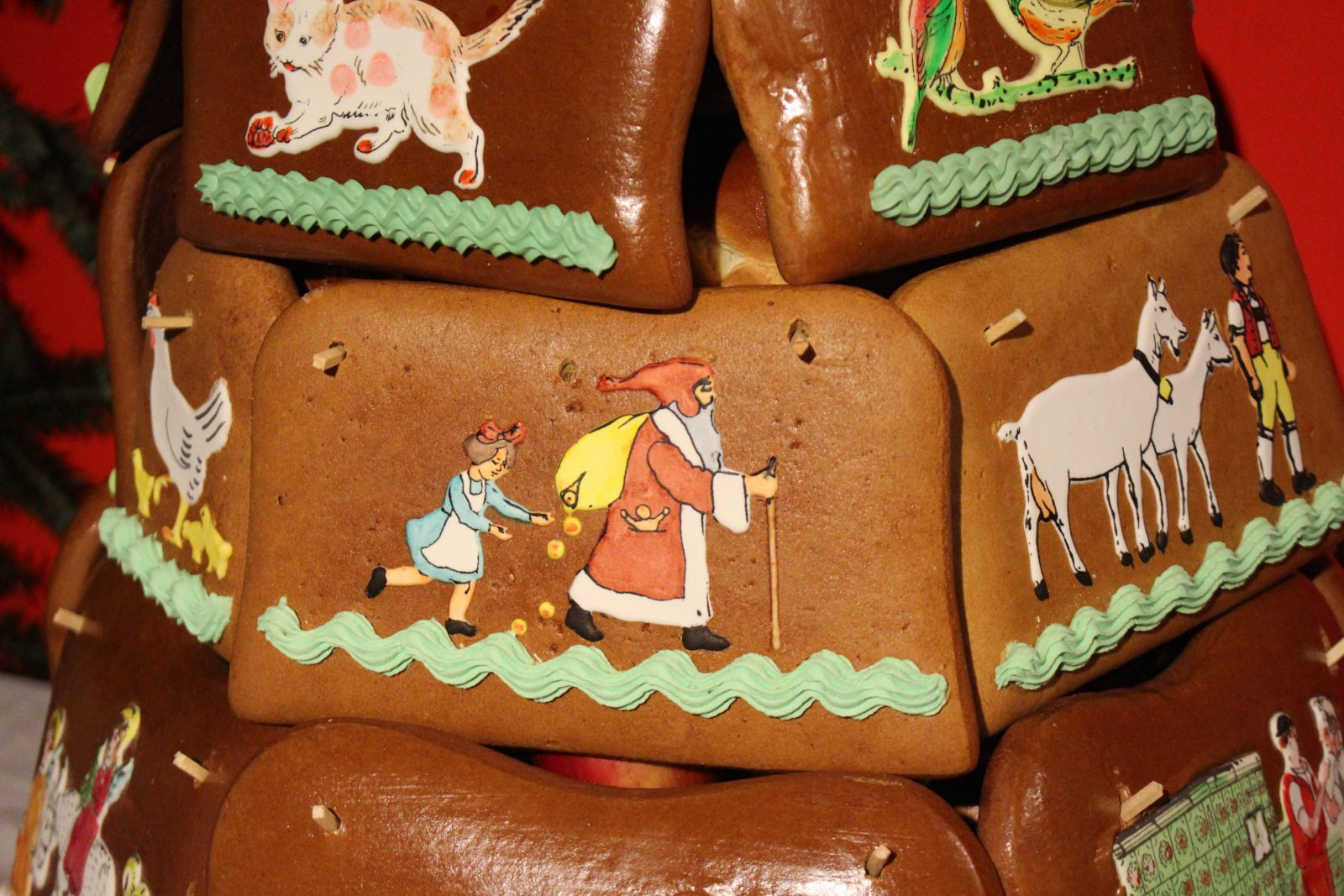 Appenzell Noël coutume pains d'épice sur Chlausezüüg