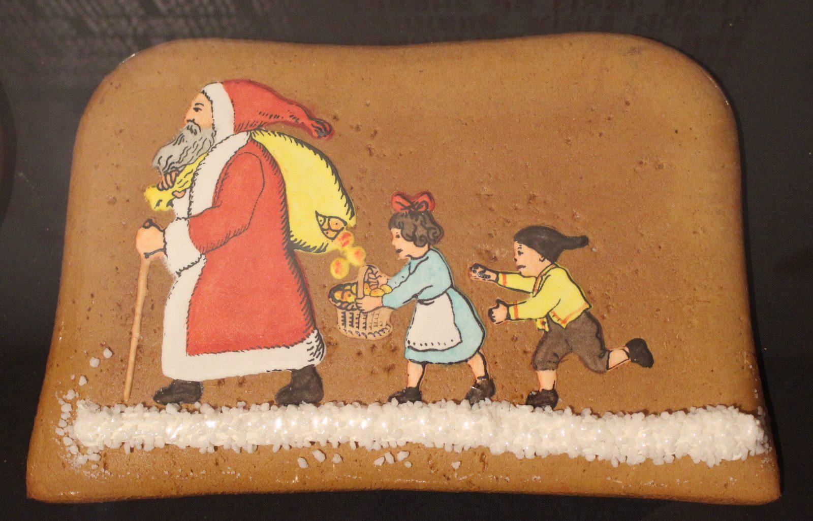 Chlausebickli Appenzell Père Noël