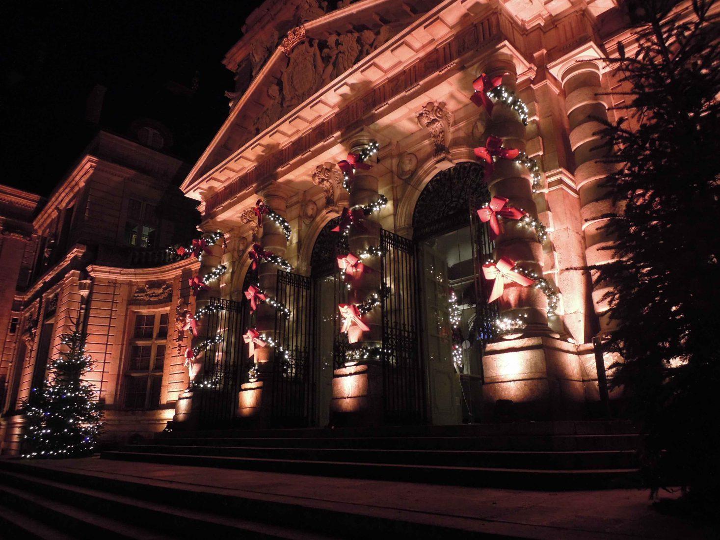 Vaux-le-Vicomte noel entrée